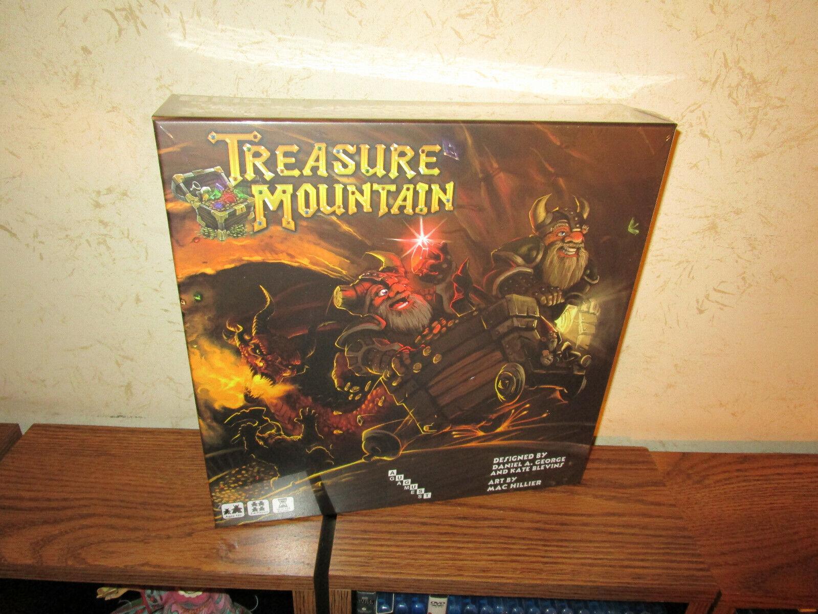 August Games-Treasure Mountain pédale de démarrage Edition