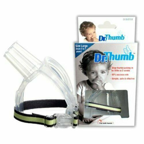 3-7 Years Dr Thumb for Thumb Sucking Prevention Treatment Thumb Large
