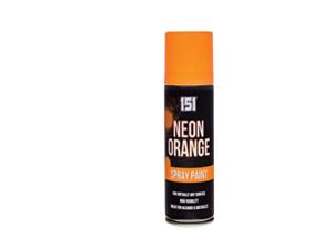 1 x Bright Orange Fluorescent Neon Spray Paint 151 200ml ...