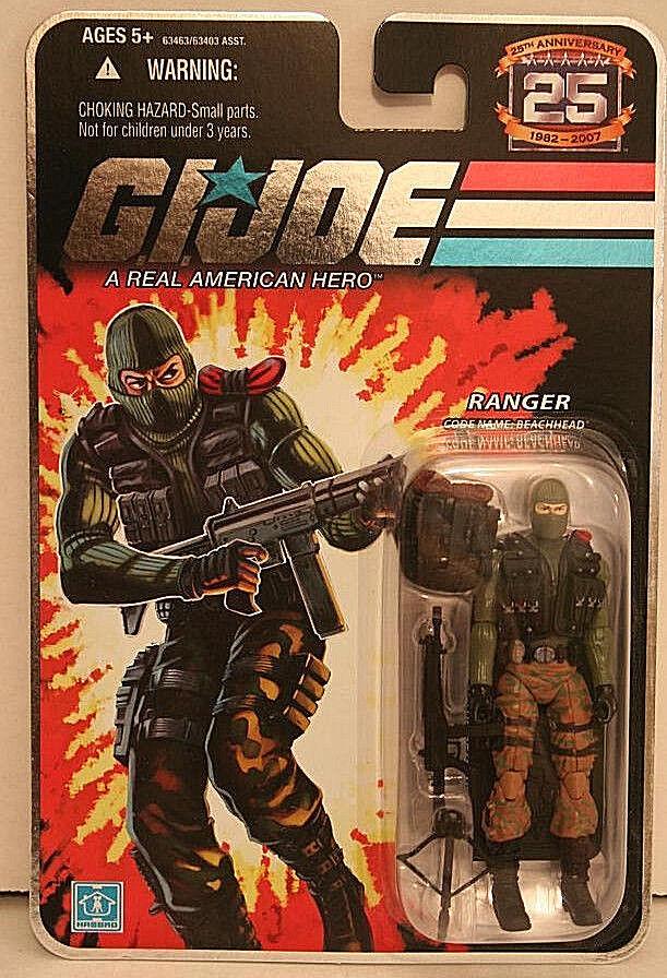 G.I. JOE 25th Anniversary Collection__BEACHHEAD 3.75   action figure__Ranger_MIP