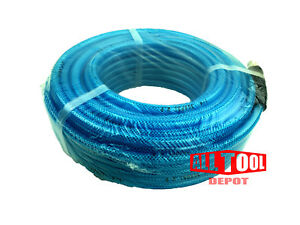 100-FT-Polyurethane-AIR-HOSE-3-8-034-NPT-300psi-w-Swivel-Fitting-1-4-034-NPT