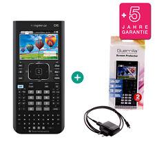 TI Nspire CX CAS Taschenrechner Grafikrechner + Schutzfolie Ladekabel Garantie