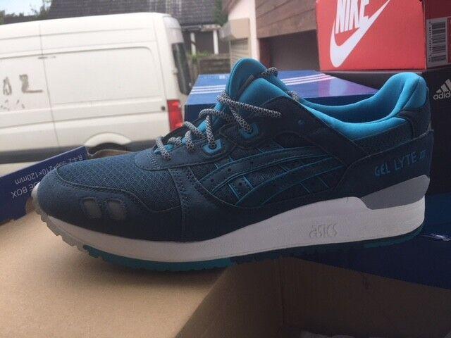 Asics Gel Lyte III Retro Sneaker Legion Blue H638Y Gr:43 US:10 Neu Shoes 4545