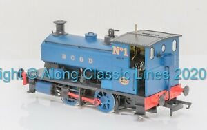 """H4-AB14-007, OO Gauge, Andrew Barclay 0-4-0ST 14"""" 1927 'No.1' in Burnley Gas"""