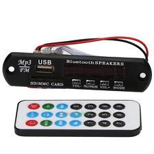 Bluetooth USB SD FM TF MP3 Audio Player Module WMA Board Speaker Remote Control
