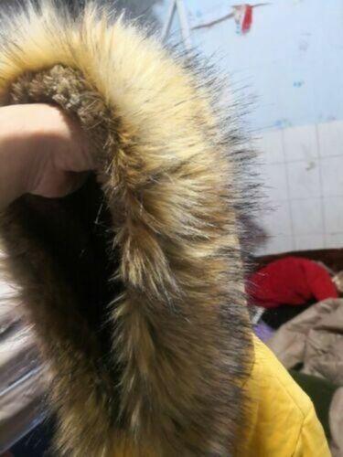 Women Winter Warm Hooded Coat Faux Fur Parka Long Jacket Trench Outwear Overcoat