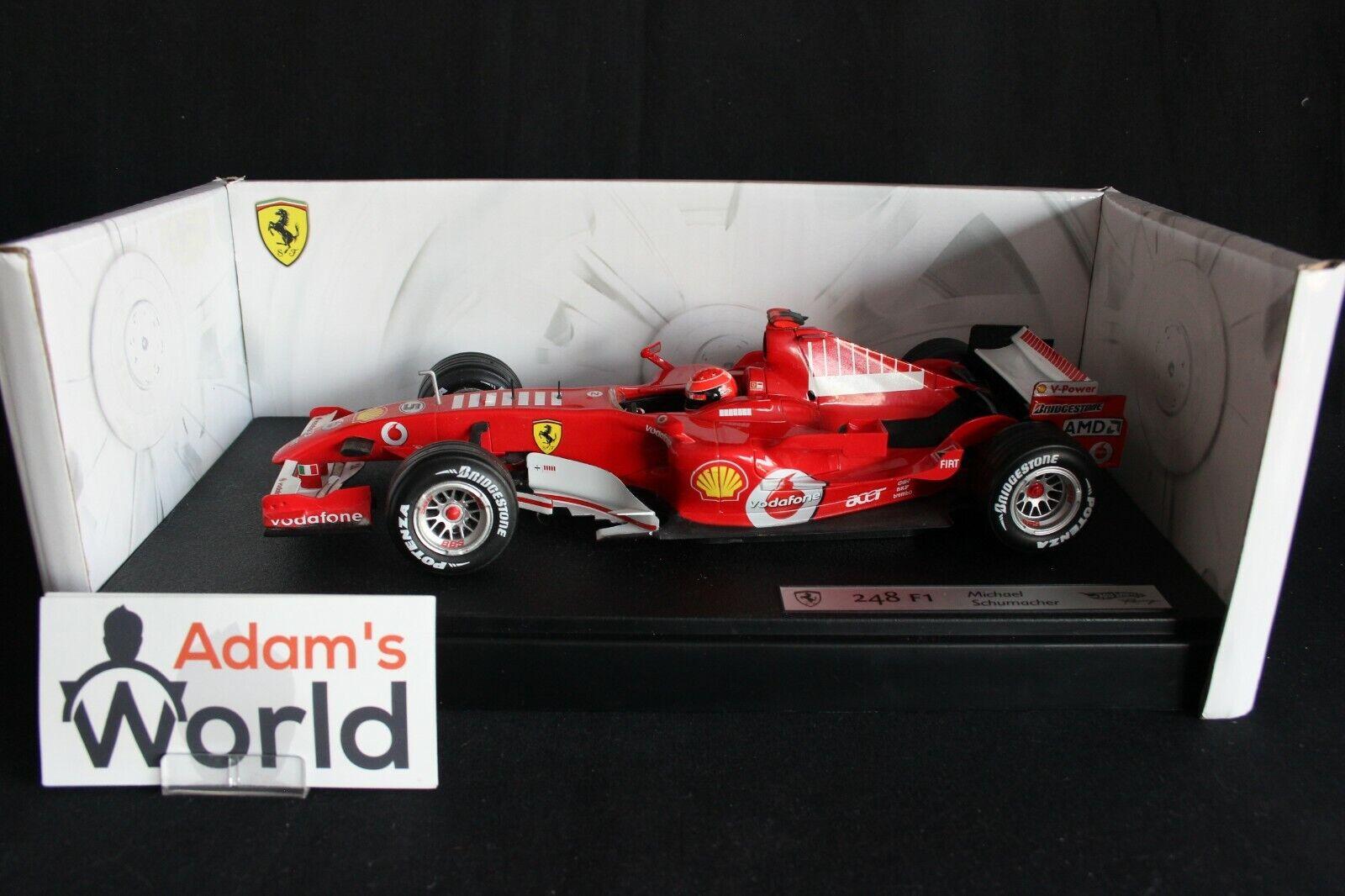 Hot Wheels Ferrari 248 F1 2006 1 18 Michael Schumacher (GER)  Barcode  (PJBB)