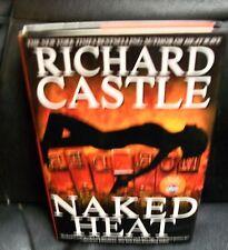 Richard Castle Naked Heat hardcover dust jacket 1st edition