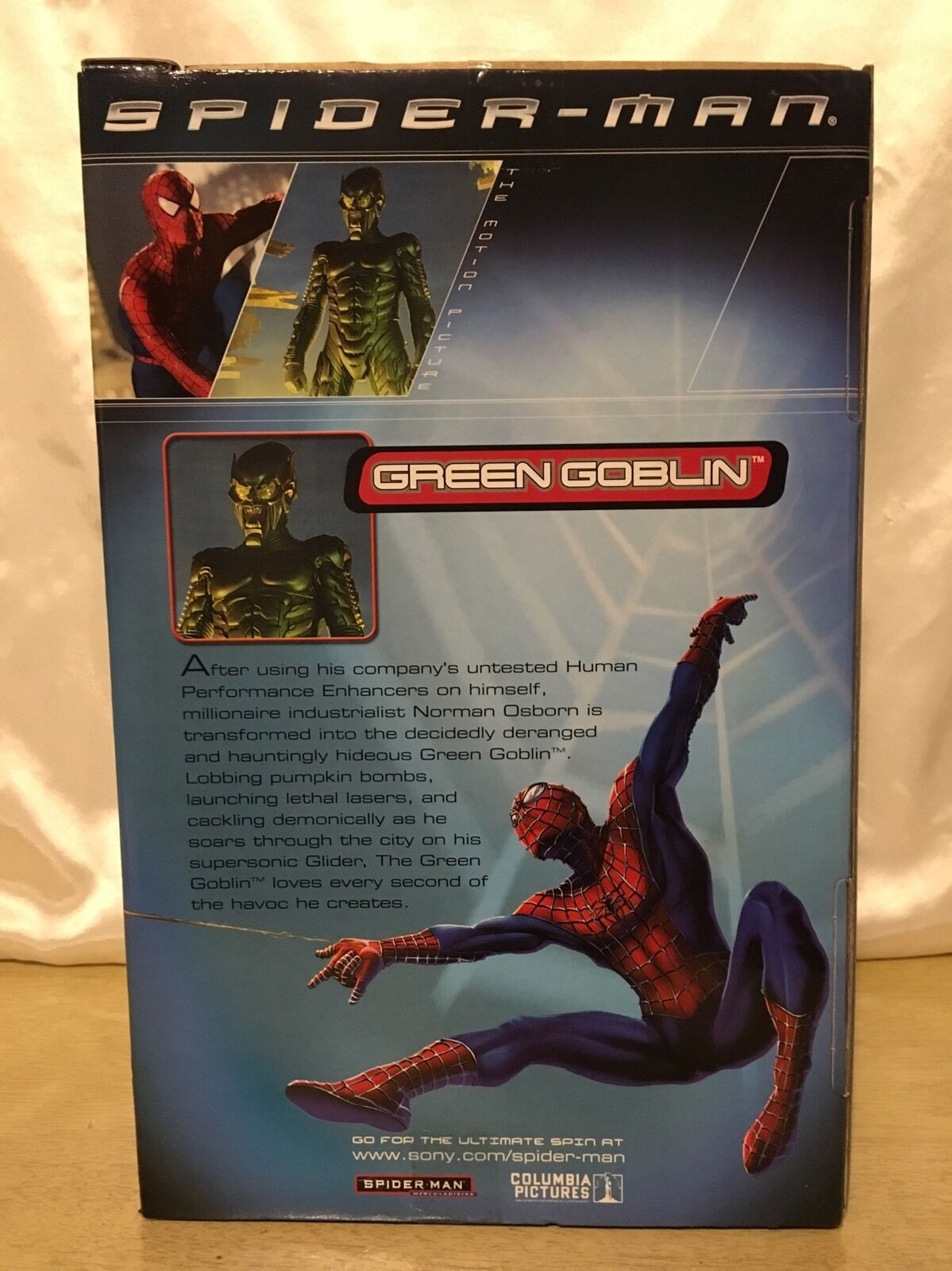 NEW - verde Goblin 12in. 12in. 12in. Poseable Action Figure - Spider-Man Movie - ToyBiz 2001 895fb3