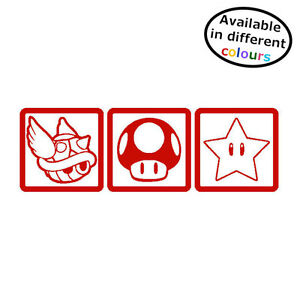 Details about Mario Kart Gamer Sticker Decal For Car Or Home - HSS019 By  Happy Snail Stickers