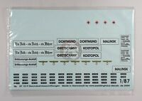 Peddinghaus 1/87 (ho) Drb Railway Station, Locomotive & Wagon Markings Wwii 1019