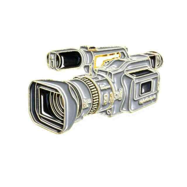 "Sony Mini DV Movie 1.3"" Video Camera VX1000 Lapel Pin Enamel Badge Accessories"