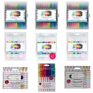 clearance craft marker pen sets bullet brush glitter chalk full