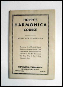 FOR-THE-SERIOUS-COLLECTOR-1927-034-HOPPY-039-s-HARMONICA-COURSE-034-BOOKLET-RARE