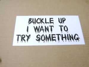 Buckle-Up-Truck-Bumper-Sticker-funny-decal