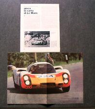 AU59 - Clipping-Ritaglio -1968- NOTIZIE LE MANS , TARGA FLORIO + POSTER