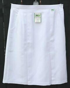Botra Classic Bowling Bowls Skirt Ladies White Polyester Ex Display