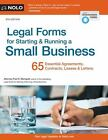 Legal Forms for Starting and Running a Small Business by Fred S. Steingold (2016, Paperback)