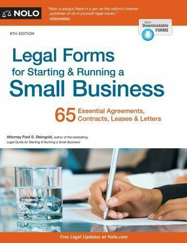 Legal Forms for Starting & Running a Small Business-ExLibrary