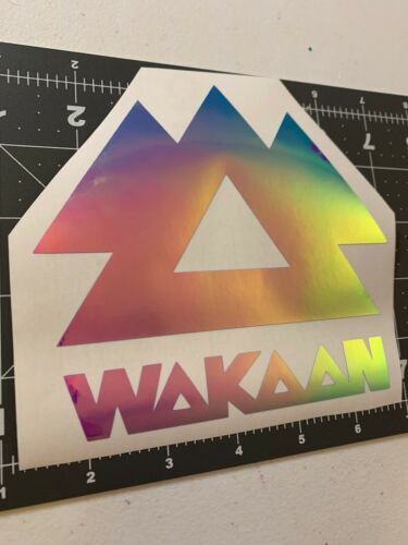 Wakaan Vinyl Window Decal *Please Pick COLOR*