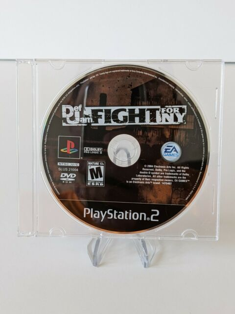 Def Jam: Fight for NY Playstation 2 PS2 Video Game Disc Only - Tested & Working