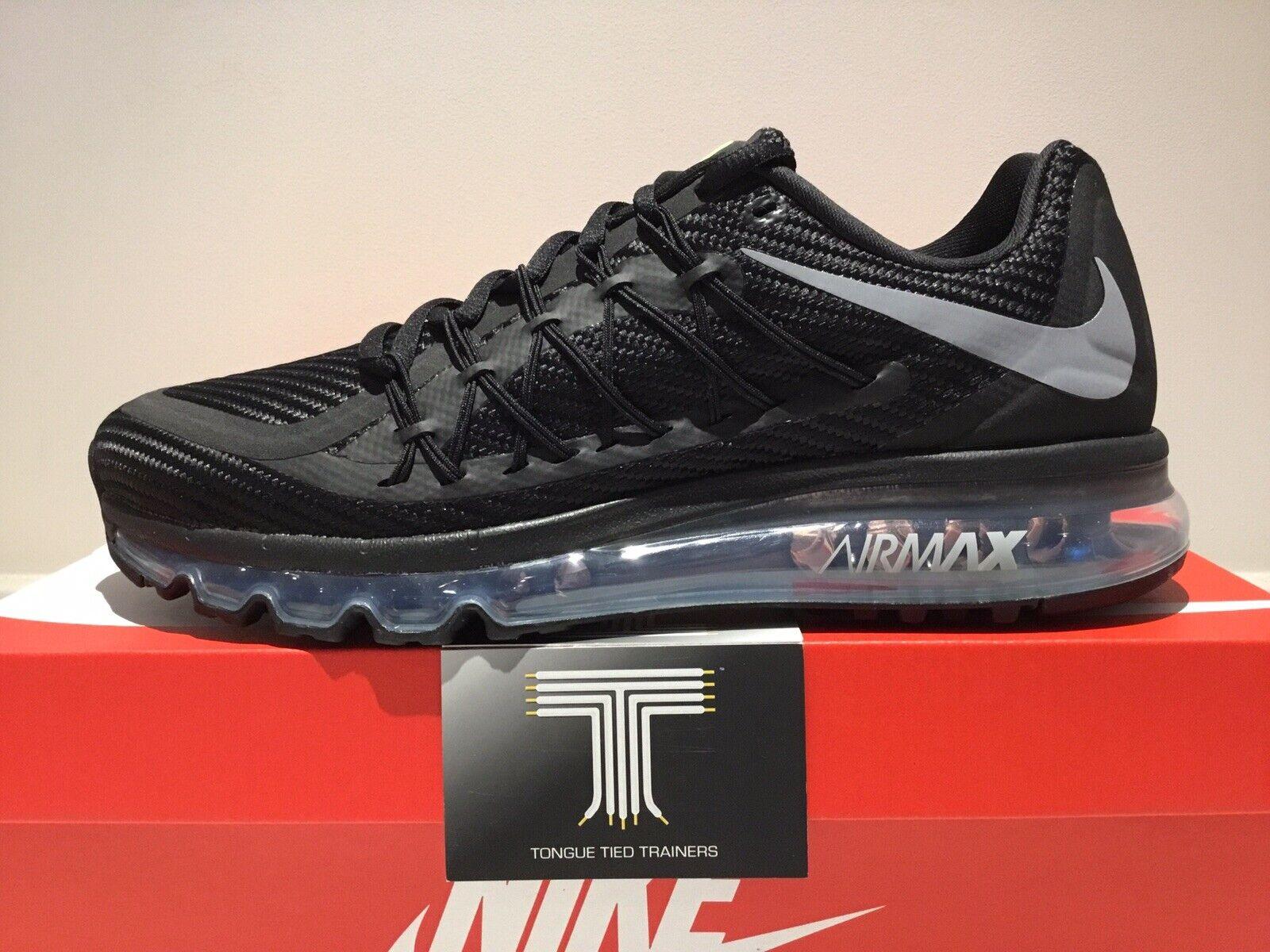 Nike Air Max 2015  CN0135 001  Uk Größe 13