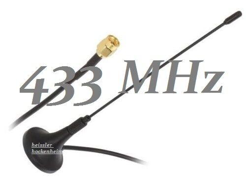 Antenne 433 434 MHz SMA MwSt NEU !!