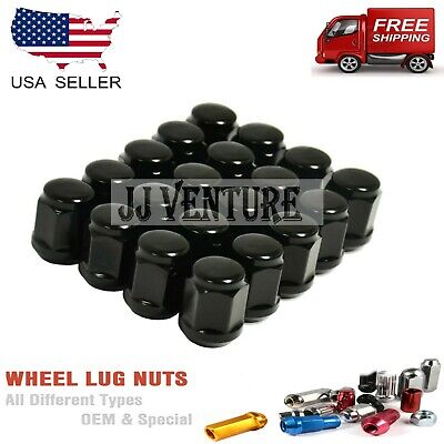 FIT: LEXUS 24PC BLACK BULGE ACORN LUG NUTS 12X1.5 1.38/""