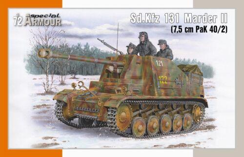 in 1:72 7009920 Special Hobby: Sd.Kfz 131 Marder II 7,5 cm PaK 40//2