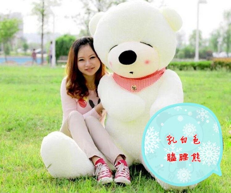 2-meter sleepy plush teddy bear
