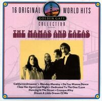 Mamas & The Papas 16 original world hits (golden gate collection) [CD]