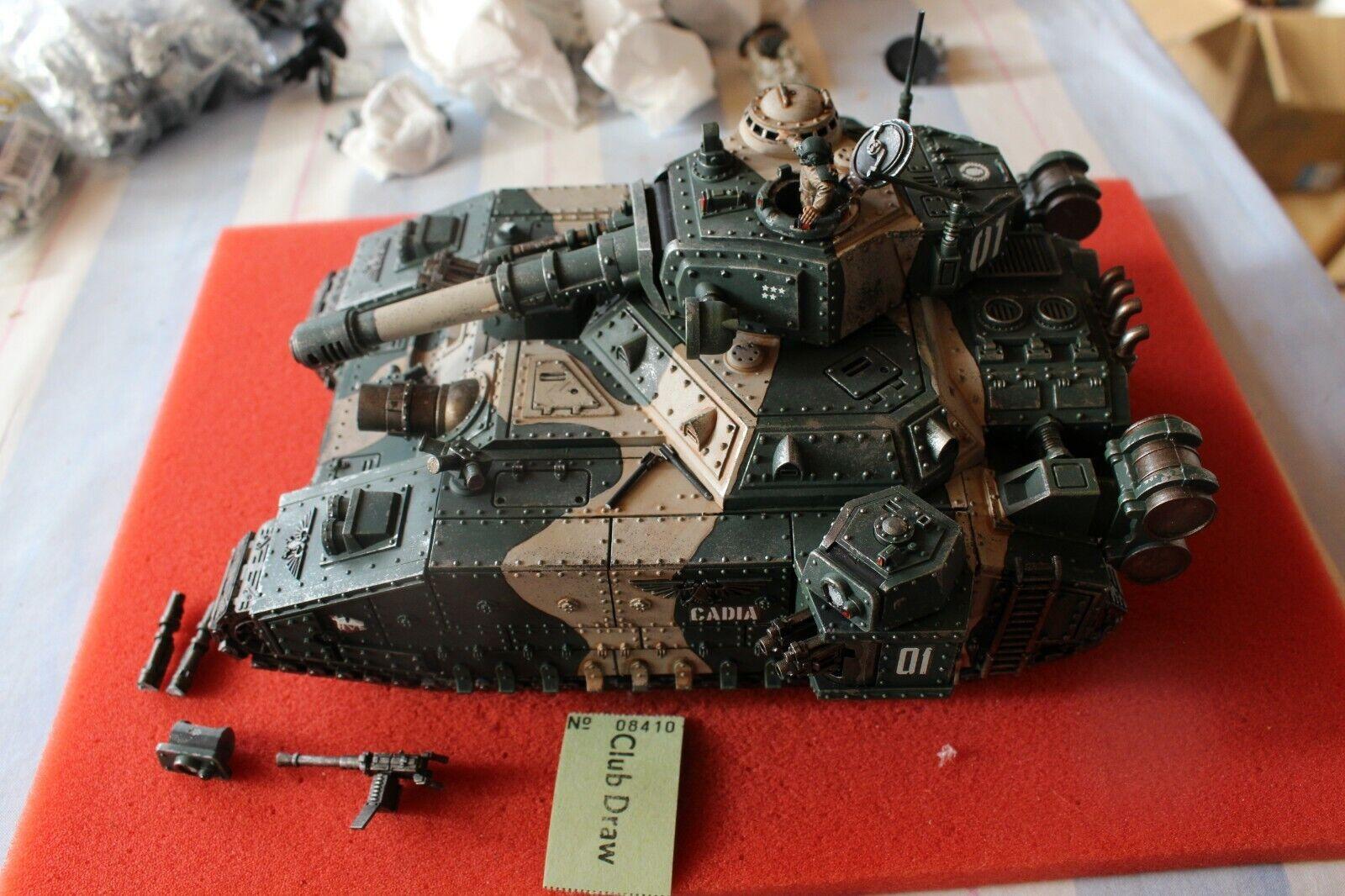 Games Workshop Warhammer 40k Baneblade Tank Astra Militarum Well Painted Vehicle