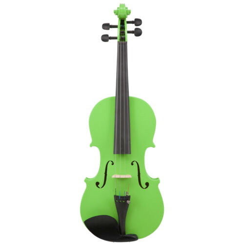 Le/'Var 4//4 Student Violin Outfit Neon Lime