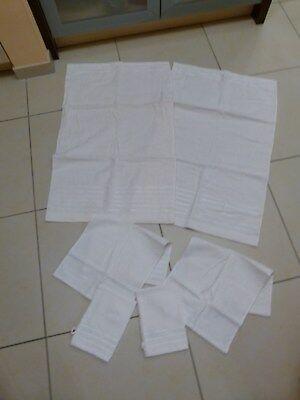 6tlg. Set - Gäste Handtücher, Wasch Tücher, Kleine Handtücher Waschlappen Neu