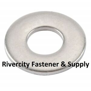 18-8 SS 50 M10 or 10MM Metric Steel Flat Washer A2