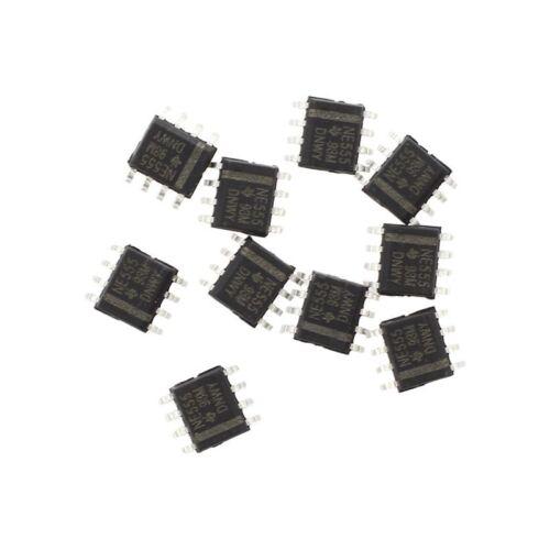 10pcs 8-Pin IC SMD Timer NE555 N3C2