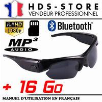 Brille Kamera Sport Sung4 Full Hd 1080p + 16 Gb Video Foto Bluetooth Mp3