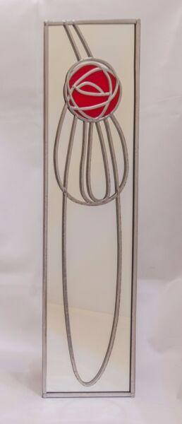 """x 8g Specchio Viti con Chrome DOME berretti e protezione guarnizioni di gomma 25mm 1 /"""""""