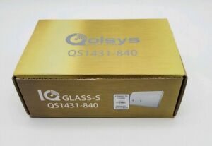 Qolsys QS1431-840 IQ Wireless S-Line Encrypted Glass Break Sensor