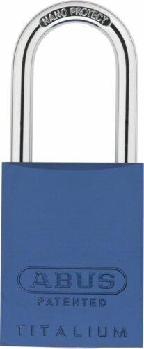 Abus 83 AL//40 bleu Aluminium Cadenas sans cylindre 40 mm Bleu