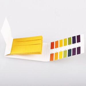 Details about PH Test Strips Litmus Paper Urine Saliva Acid Alkaline Liquid  Level Indicator X1