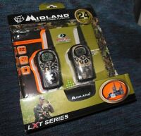 Midland 2 Way Radios Walkie Talkies Lxt385vp3 Camo With Charger 24 Mile