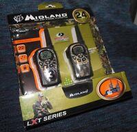 Midland 2 Way Radios Walkie Talkies Lxt385vp3 Camo With Charger 24 Mile