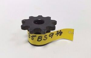 Martin 35BS9 sprocket, 3/8 inches stock bore, 9 teeth