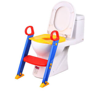 Baby-Toddler-Potty-Bathroom-Training-Toilet-Seat-Step-Ladder-Loo-Trainer