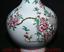 miniature 8 - 16-4-034-Yongzheng-Chinois-Famille-Rose-Porcelaine-Dynastie-Vase-De-Bouteille-Fleur