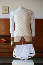 Frottee Sprinter Shorts XS 164 Turnhose T M Boutique VEB Mülsen DDR True Vintage