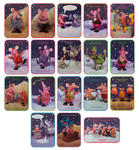 THE CLANGERS Happy Birthday Celebration Clanger Family Quality Cards 17cm x 12cm