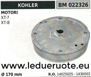 1402502S 1430002 VOLANO MAGNETICO magnete ventola MOTORE KOHLER XT-7 XT-8 Ø170
