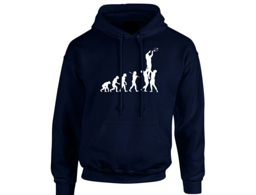 Rugby Evo Evolution Unisex Hoodie 8 Colours